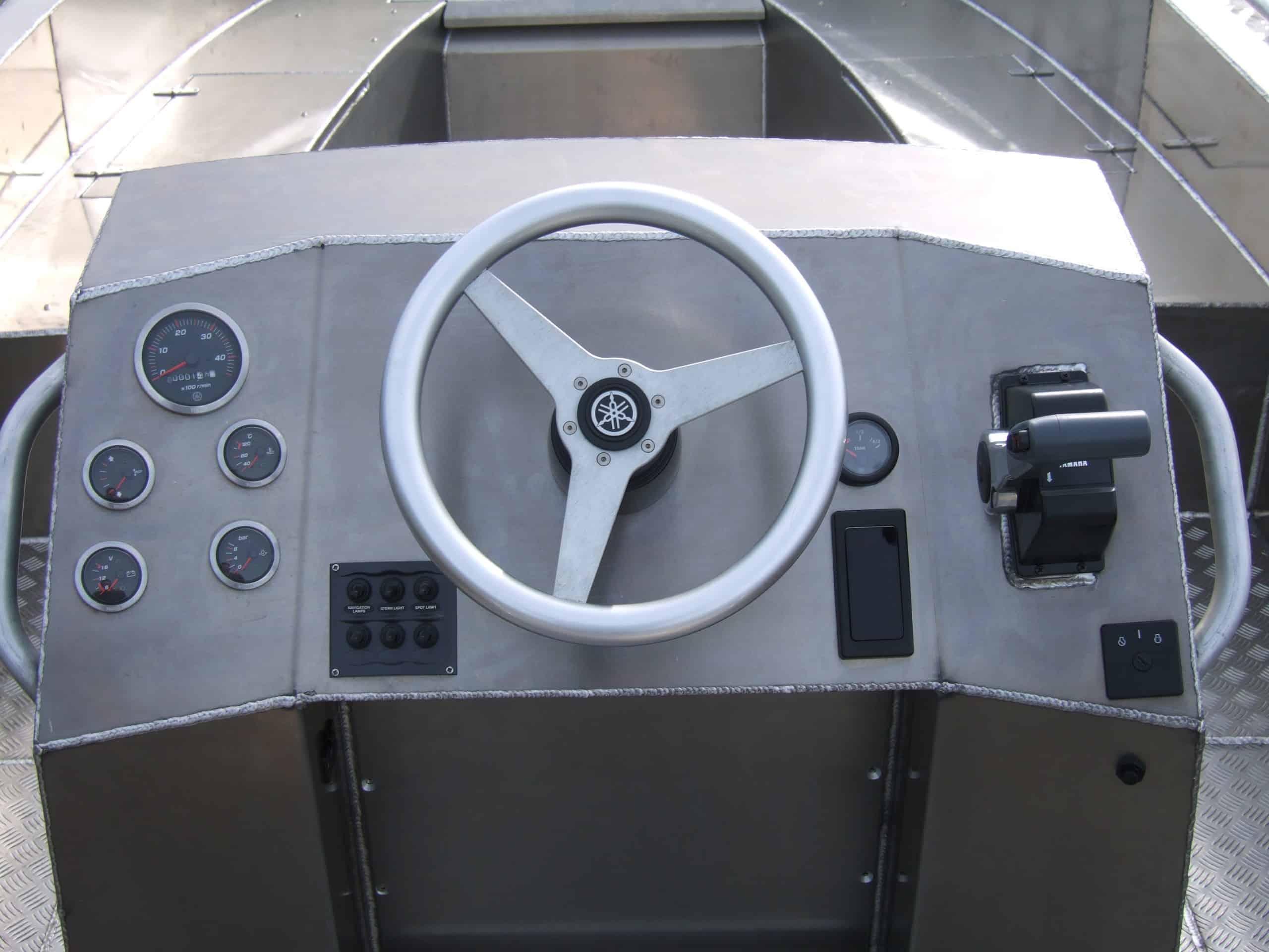 Alufleet open console 777