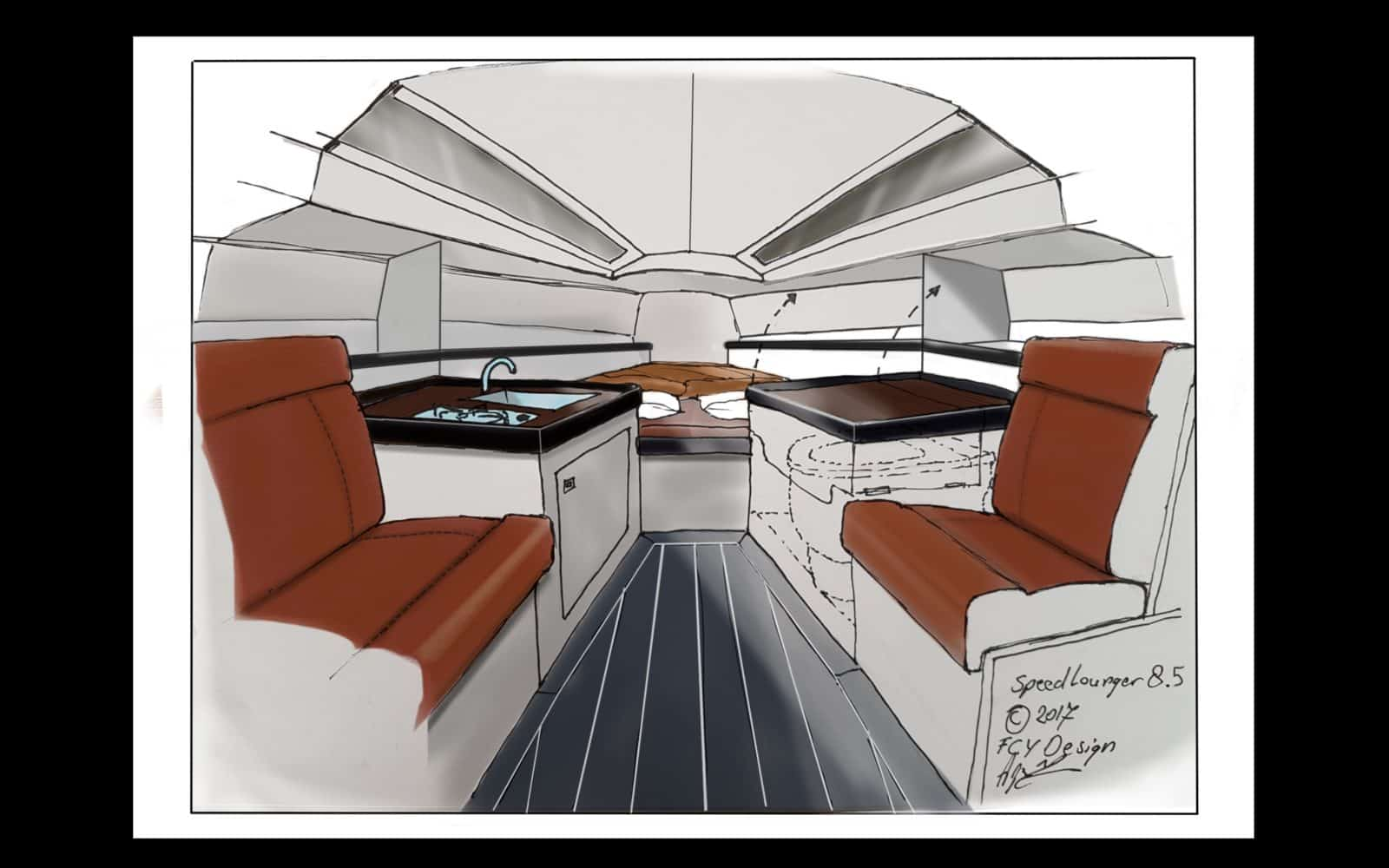 Speedlounger interior