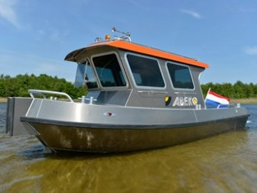 Cabin Work boat